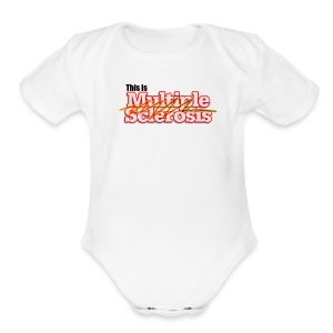 This is - Short Sleeve Baby Bodysuit