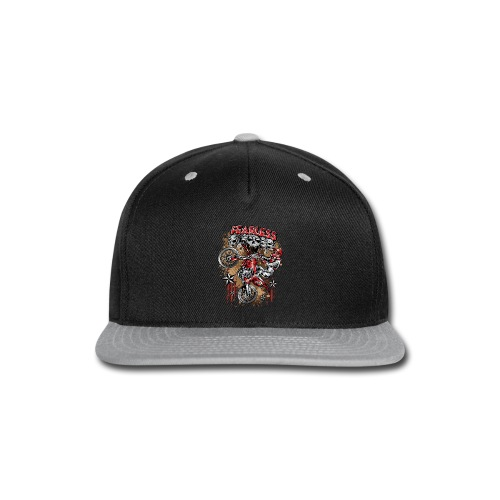 Fearless Moto-X Red - Snap-back Baseball Cap