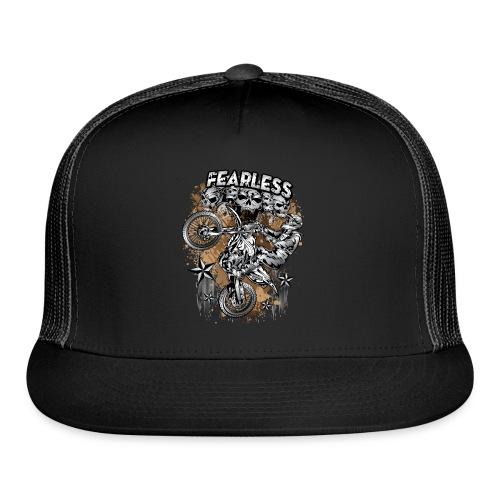 Fearless Motocross White - Trucker Cap