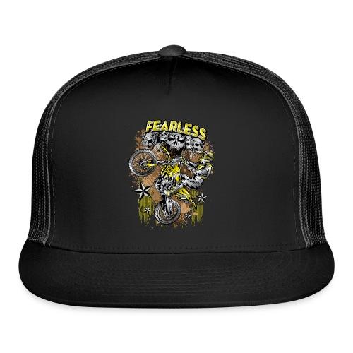 Fearless Motocross Yellow - Trucker Cap