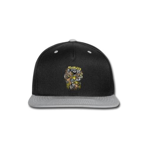 Fearless Motocross Yellow - Snap-back Baseball Cap