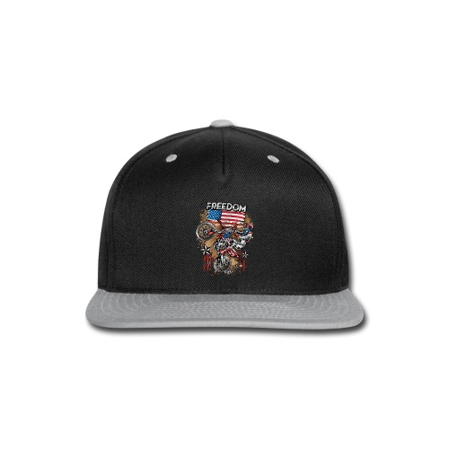Fearless Motocross USA - Snap-back Baseball Cap