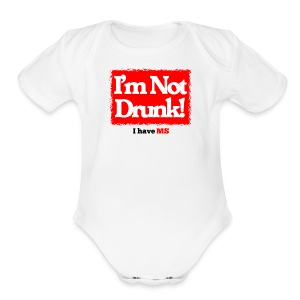 I'm not Drunk - Short Sleeve Baby Bodysuit