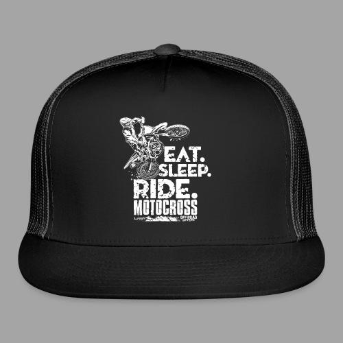 Motocross Eat Sleep Ride - Trucker Cap
