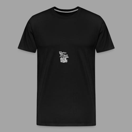 Motocross Eat Sleep Ride - Men's Premium T-Shirt