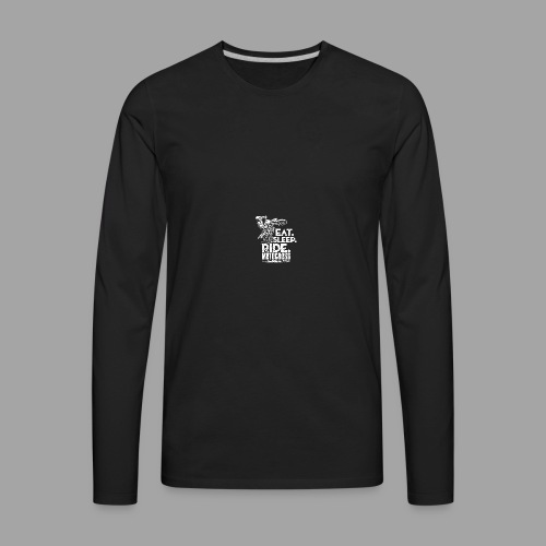 Motocross Eat Sleep Ride - Men's Premium Long Sleeve T-Shirt