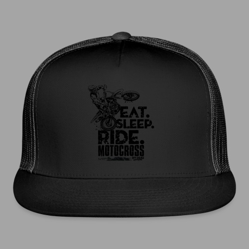 Motocross Eat Sleep Ride - Trucker Cap