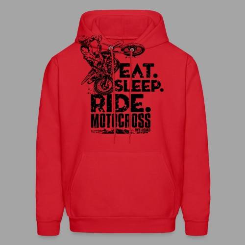 Motocross Eat Sleep Ride - Men's Hoodie