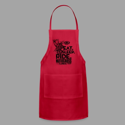 Motocross Eat Sleep Ride - Adjustable Apron
