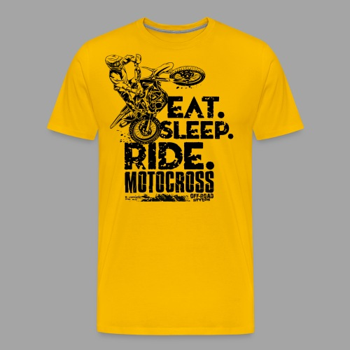 Motocross Eat Sleep Ride - Men's Premium T-Shirt