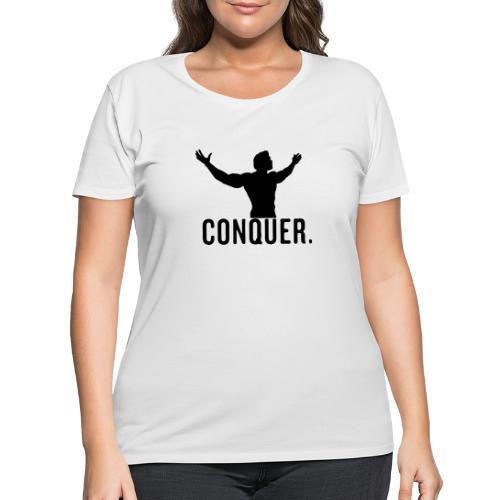 Arnold Conquer - Women's Curvy T-Shirt