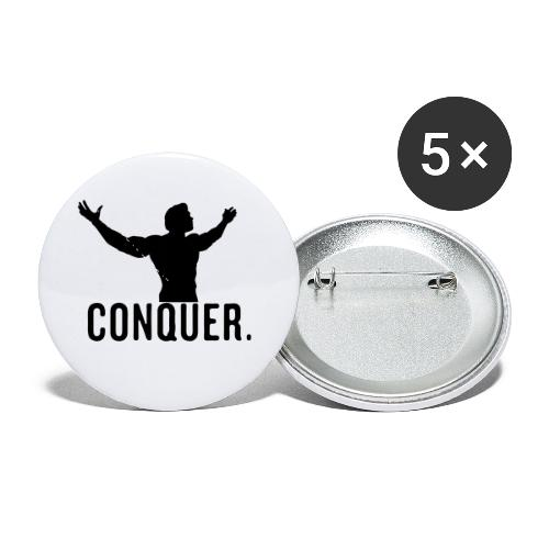 Arnold Conquer - Buttons small 1'' (5-pack)