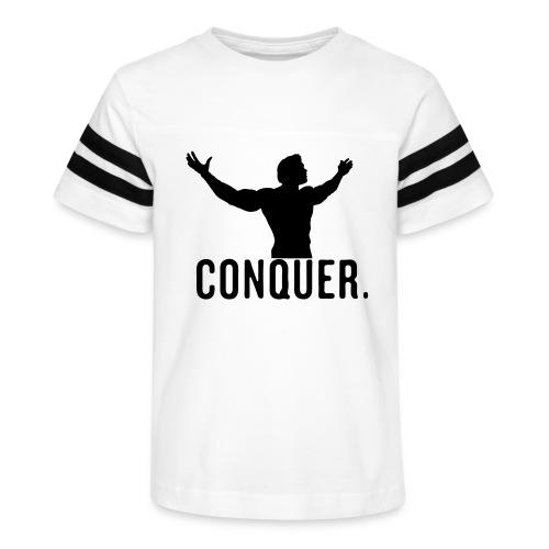 Arnold Conquer - Kid's Vintage Sport T-Shirt