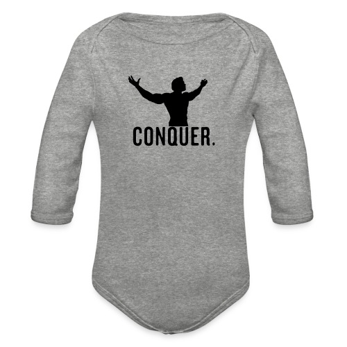 Arnold Conquer - Organic Long Sleeve Baby Bodysuit