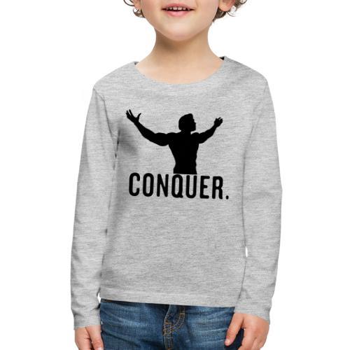 Arnold Conquer - Kids' Premium Long Sleeve T-Shirt