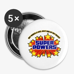 Superpowers Button - Small Buttons