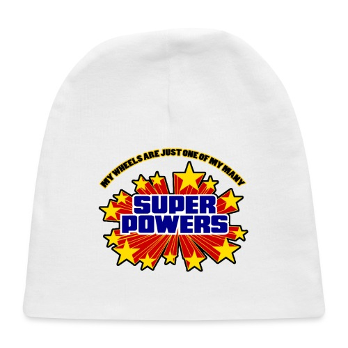 Superpowers Button - Baby Cap