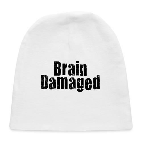 Brain Damaged Button - Baby Cap