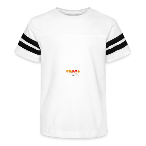 Clumsy Cup - Kid's Vintage Sport T-Shirt