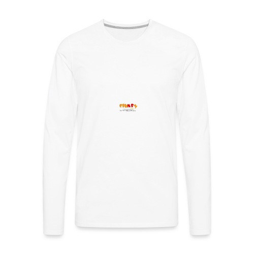 Clumsy Cup - Men's Premium Long Sleeve T-Shirt