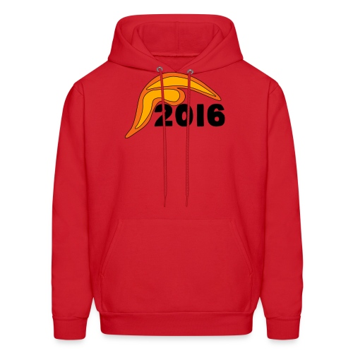 Men's Donald Trump Hair 2016 T-Shirt Red - Men's Hoodie