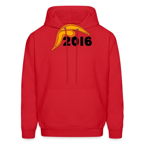 Men's Donald Trump Hair 2016 T-Shirt Red - Men's Hoodie