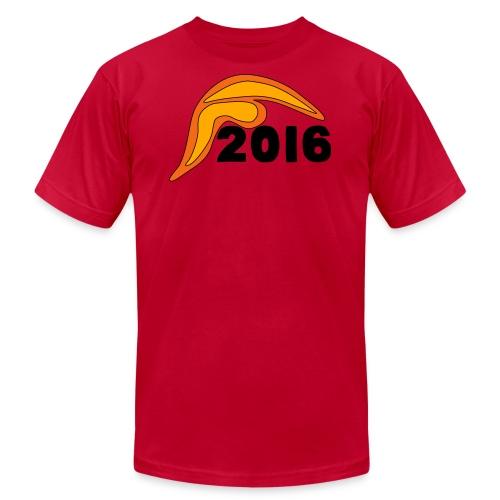 Men's Donald Trump Hair 2016 T-Shirt Red - Men's Fine Jersey T-Shirt