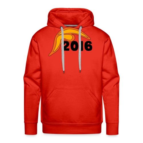 Men's Donald Trump Hair 2016 T-Shirt Red - Men's Premium Hoodie