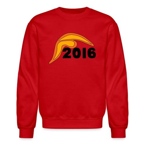Men's Donald Trump Hair 2016 T-Shirt Red - Crewneck Sweatshirt