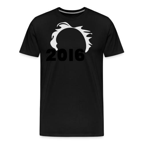 Men's Bernie Sanders Hair T-Shirt Black - Men's Premium T-Shirt