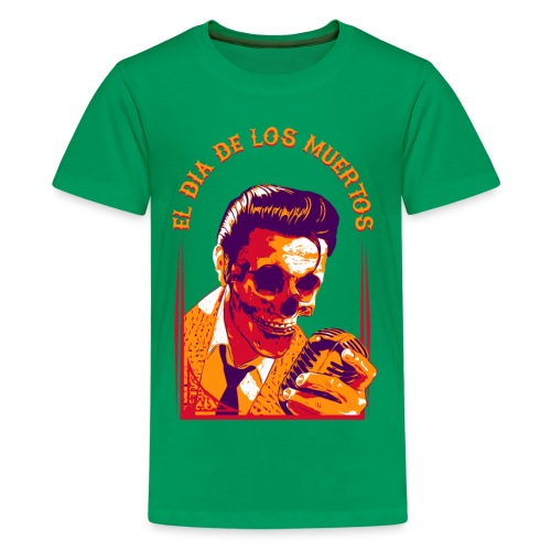 Halloween Elvis Dead | | El Dia de los Muertos Women's T-Shirts - Kids' Premium T-Shirt