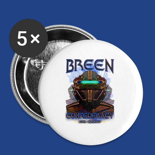 The Breen Commander - Buttons large 2.2'' (5-pack)