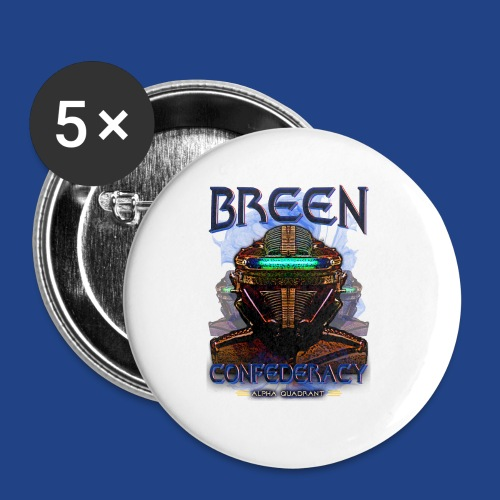 The Breen Commander - Buttons small 1'' (5-pack)