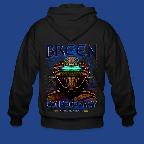 The Breen Commander - Men's Zip Hoodie