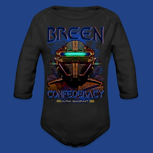 The Breen Commander - Organic Long Sleeve Baby Bodysuit