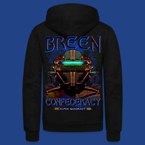 The Breen Commander - Unisex Fleece Zip Hoodie