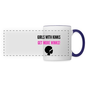 Girls With Kinks - Panoramic Mug