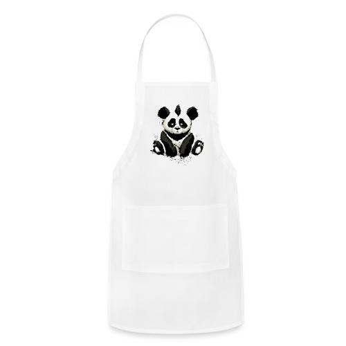Inked Panda Bear - Adjustable Apron