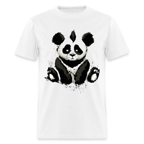 Inked Panda Bear - Men's T-Shirt