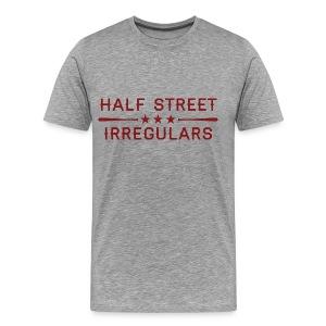 HSI Industrail - Men's Heather Gray Sweatshirt - Men's Premium T-Shirt