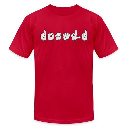 Donald (ASL) - Men's Fine Jersey T-Shirt