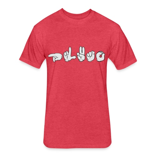 Pluto (ASL) - Fitted Cotton/Poly T-Shirt by Next Level