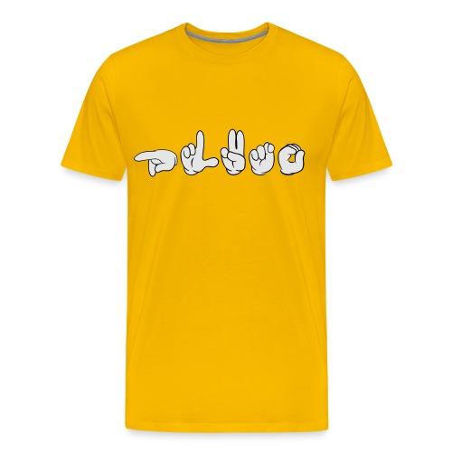 Pluto (ASL) - Men's Premium T-Shirt