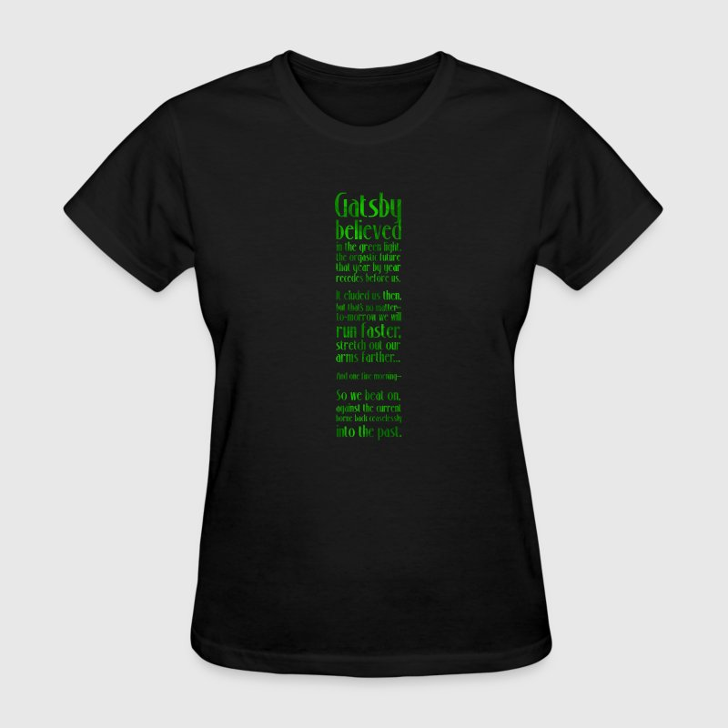 Gatsby and the Green Light - Women's T-Shirt