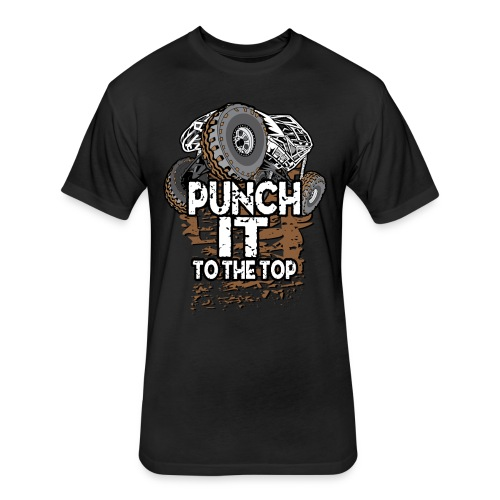 Punch It Rock Bouncer - Fitted Cotton/Poly T-Shirt by Next Level
