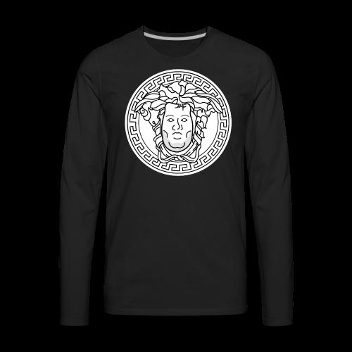 Chrisace 'Meh'-dusa - Men's Premium Long Sleeve T-Shirt