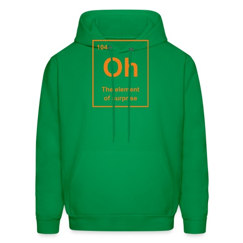 Oh, The Element of Surprise - Men's Hoodie