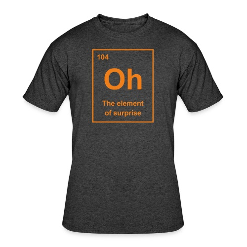 Oh, The Element of Surprise - Men's 50/50 T-Shirt