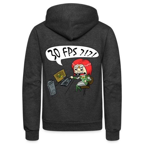 Men's 30 FPS Tee - Unisex Fleece Zip Hoodie