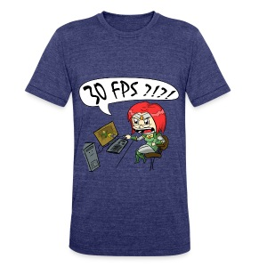 Men's 30 FPS Tee - Unisex Tri-Blend T-Shirt by American Apparel